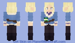 Adaine Abernant   Dimension 20/Fantasy High Minecraft Skin