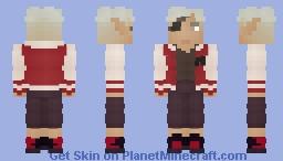 Fabian Seacaster   Dimension 20/Fantasy High Minecraft Skin