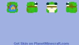 Boggy the Froggy   Dimension 20/Fantasy High Minecraft Skin