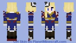 Azur Lane Hood Minecraft Skin
