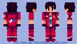 Mario - Va-11 Hall-A Minecraft Skin