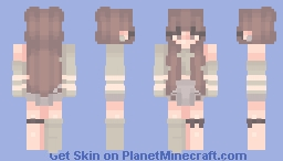 cave streams Minecraft Skin