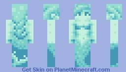 Mermaid Minecraft Skin