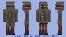 Mystery Man of Mystery Minecraft Skin
