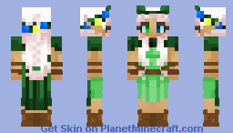 A Pop Of Color- Fully Colored Version Minecraft Skin