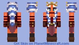 Ahsoka Tano (Mortis Vision) Minecraft Skin