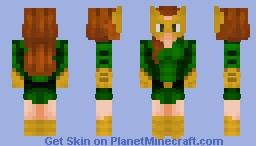 Jean Grey (Marvel Comics) Minecraft Skin