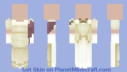 ivory mantua Minecraft Skin