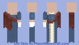 simplistic gown Minecraft Skin