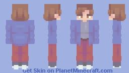 scared - remake Minecraft Skin