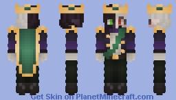 end prince ranboo Minecraft Skin