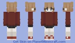 𝓪𝓷𝔁𝓲𝓮𝓽𝔂 𝓱𝓪𝓼 𝓶𝓮 𝓲𝓷 𝓲𝓽𝓼 𝓰𝓻𝓪𝓼𝓹 Minecraft Skin