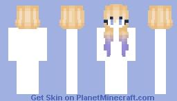 Blonde to Blue Minecraft Skin