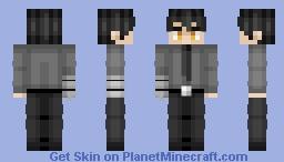 Kurono Yuichiro - Fire Force (Steve Variant in Desc.) Minecraft Skin