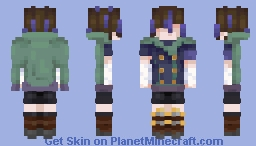 the guy on the left Minecraft Skin