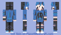 I made a skin while on vacation - rce Minecraft Skin