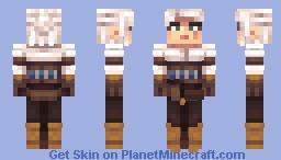 Ciri of Cintra (Remake) Minecraft Skin