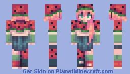 strawberry Minecraft Skin