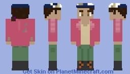 Clementine   The Walking Dead: The Final Season McCarroll Ranch Flashback Minecraft Skin