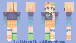 a place to be -- remake Minecraft Skin