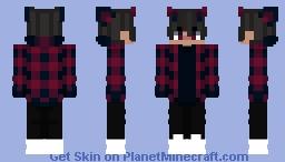 your average gacha life bad boy alpha Minecraft Skin