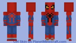 The Amazing Spider-Man 2012 Minecraft Skin