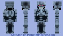 T-800 Terminator Endoskeleton Minecraft Skin