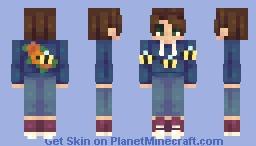 Summer Hoodie Minecraft Skin