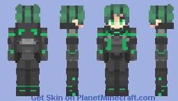 Deku - World Heroes Mission Suit Minecraft Skin