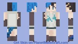 Japanese Skink girl Minecraft Skin