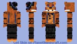 Starlight Freddy remaster Minecraft Skin