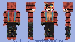 Starlight foxy remaster Minecraft Skin