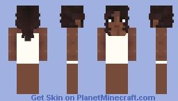 [F2U] 𝐉𝐚 𝐚𝐫𝐚 𝐞 (Black Woman Base) Minecraft Skin