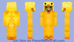 Boy In A Duck Onesie! Minecraft Skin