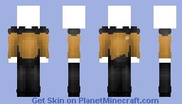 Starfleet Uniform - Engineering & Security || Star Trek: The Next Generation Minecraft Skin