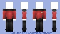 Starfleet Uniform - Command & Helm || Star Trek: The Next Generation Minecraft Skin