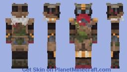 Bloodhound | Apex Legends Minecraft Skin