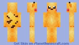Pikachu (SSBU) Minecraft Skin