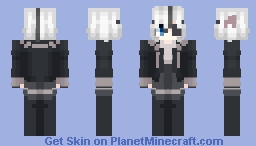 it's been 2 weeks since i last uploaded so here / OC Minecraft Skin