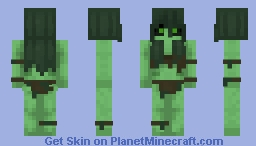 She came from the Swamp Minecraft Skin