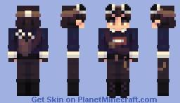 𝙂𝙚𝙤𝙧𝙜𝙚𝙉𝙤𝙩𝙁𝙤𝙪𝙣𝙙 // Manhunt Skins Series, #5 of 6 Minecraft Skin