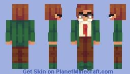 Stardew Series ~ Harvey Minecraft Skin