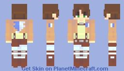 eren yeager  エレンイェーガー Minecraft Skin