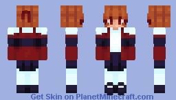 Powerpuff Girls ~ Blossom ~ Cartoons as Minecraft skins Minecraft Skin