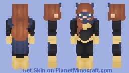 Barbara Gordon - Batgirl Minecraft Skin
