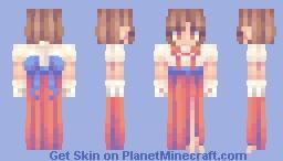 off brand sailor moon Minecraft Skin