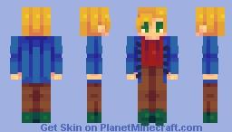 Stardew Series ~ Sam Minecraft Skin