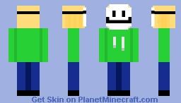 dream (bad att) xD Minecraft Skin