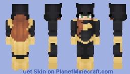 Batgirl - Barbara Gordon DCAMU Minecraft Skin