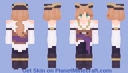 What? Yer never heard of Lady La'tru? Minecraft Skin